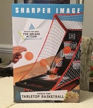 Sharper Image LAUNCH PAD TABLETOP BASKETBALL Arcade Shooting Game - New ... - $18.99
