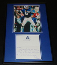 Robbie Bosco Signed Framed Handwritten Letter & Photo Display BYU - $65.09