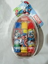 Lip Smacker Marvel Balm 3 Pack Acai Strawberry Vanilla total net wt.42oz - $17.99