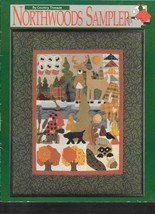 Country Threads - Northwoods Sampler By Lonna Nachtigal - Applique Quilting - $8.91