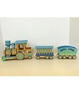 San Francisco Music Box Company Wooden Train 1992 Baby Room Home Decor Rare - $54.00
