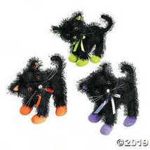 Plush Halloween Black Cats - Party and Events - $26.36