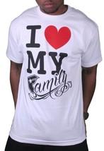 Famous Stars & Straps Mens FSAS Love My Family White T-Shirt Small 105633 NWT