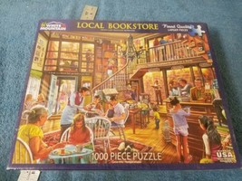 Local Bookstore 1000 Piece Puzzle by White Mountain Puzzles - $18.05