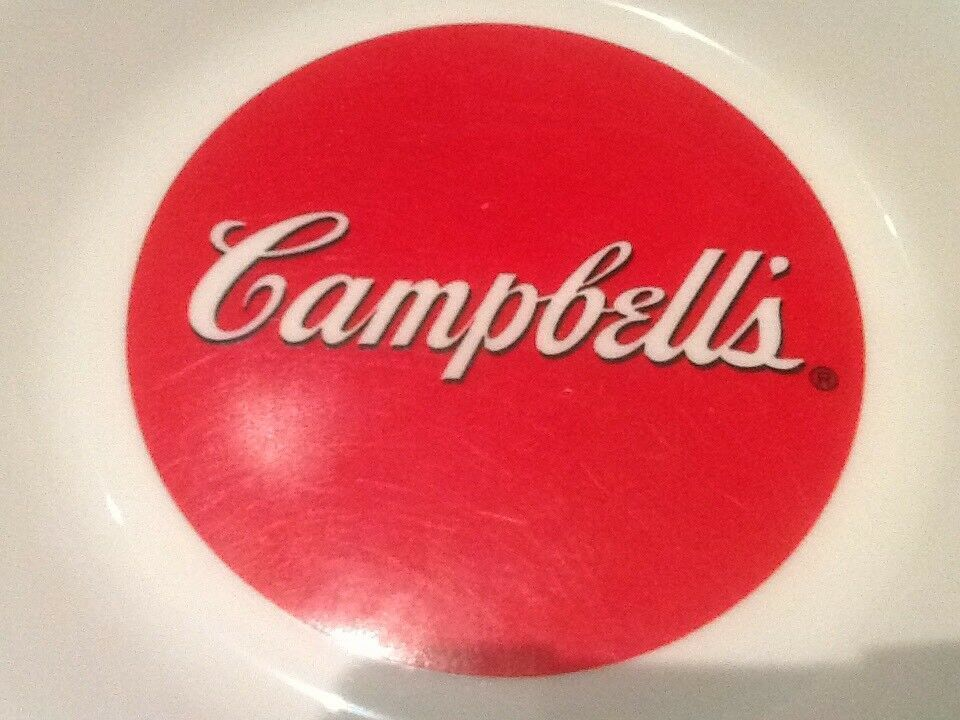 9 CAMPBELL SOUP BOWLS ARCOPAL FRANCE GOOD FOR THE BODY GOOD FOR THE SOUL NICE image 7