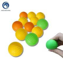 12Pcs Foam Practice Golf Balls Yellow Green Orange Golf Training Balls O... - $21.99