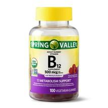 Spring Valley Vitamin B12 Gummy, 500 mcg, 100 CT..+ - $16.99