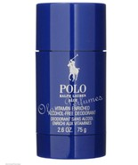 Ralph Lauren Polo Blue Alcohol Free Deodorant Stick 2.6oz 75g * Low Shipping - $19.59