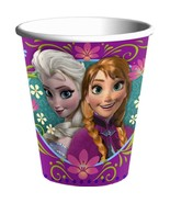 Disney Frozen Paper Beverage Cups Birthday Party Supplies 8 Per Package ... - $4.90