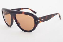Tom Ford FELIX Dark Havana / Brown Sunglasses TF589 56E FELIX-02 - $224.42