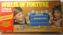 Vintage Pressman Wheel Of Fortune Junior Edition Board Game 1987 Pre-Owned - $27.22