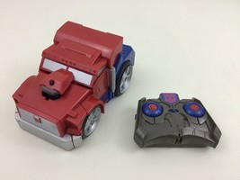 "Remote Control Optimus Prime 5"" Transforming Toy Hasbro with Batteries #... - $17.77"