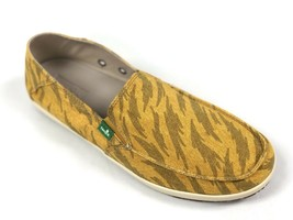 Sanuk Men's Casa Funk Mustard Tigerbolt Slip On Loafer Sidewalk Surfer SMF10959 - $39.99