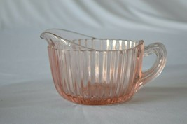 Anchor Hocking Queen Mary Creamer Pink 1936-1939 - $11.88