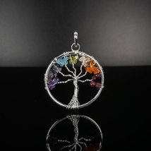 Tree of Life Pendants - Chakra Stone - $15.00