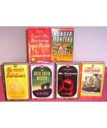 COLLECTION OF 1940'S VINTAGE PAPERBACK BOOKS - $14.95