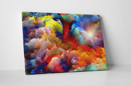 "Painted Clouds Abstract Art Gallery Wrapped Canvas Print 30""x20"" or 20""x16"" - $42.52+"