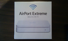 Apple AirPort Extreme 2nd Gen Wireless N Router, MB053LL/A (Worldwide Shipping) - $178.19