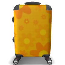 Orange Floral Suitcase - $152.90