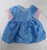 Disney Princess Cinderella Blue Doll Dress - $5.89
