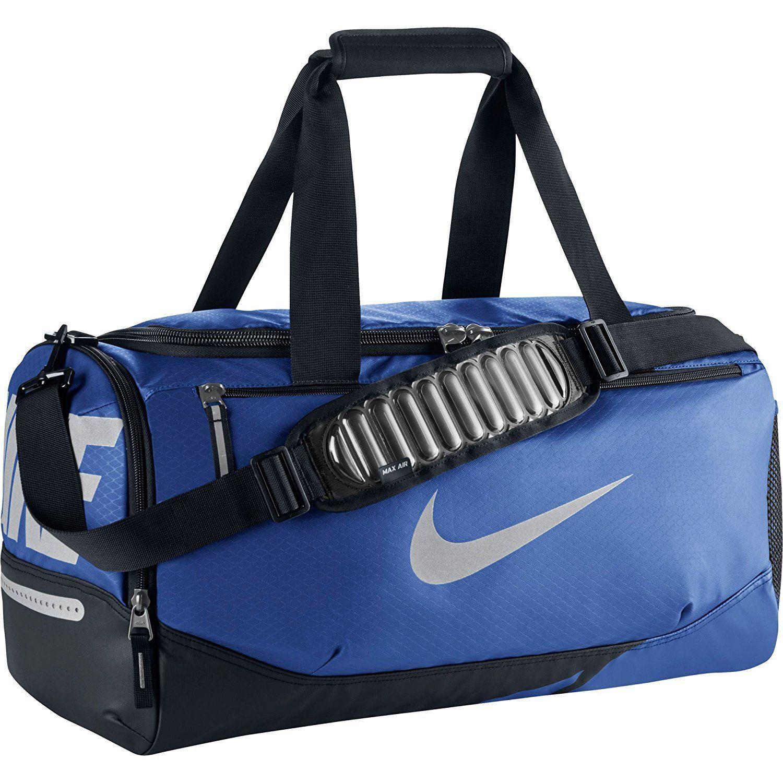 official photos 5efc4 94da7 S l1600. S l1600. Nike Vapor Max Air Small Duffel Bag, BA4985 480 Game  Royal Black Metallic. Free Shipping