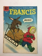 FOUR COLOR #745 1956 DELL FRANCIS: FAMOUS TALKING MULE CARTOON/ HUMOR UN... - $9.45