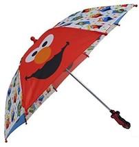 123 Sesame Street Boys Umbrella - 3D Elmo Handle - $34.15