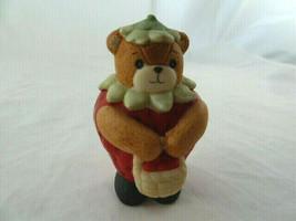 """Lucy & Me Enesco Strawberry Bear Figurine Lucy Rigg 1989 Korea made 2 7/8""""  - $8.90"""