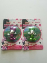 "Disney Junior Minnie Millie Mouse and melody 2.25"" Figures set new in pa... - $9.00"