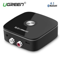 Wireless Car 4.1 Bluetooth Receiver 3.5mm 2RCA AUX Audio Music Adapter S... - $24.23