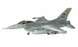 Hasegawa 1/72 the U.S.Air Force F-16C Fighting Falcon plastic model B2 - $25.78
