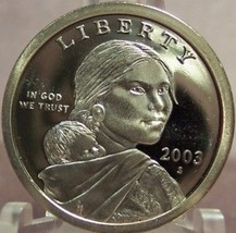 2003-S DCAM Proof Sacagawea Dollar PF65 #0272 - $4.79