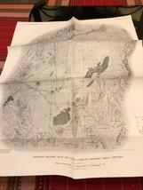 Vintage Survey Map - Carson Desert, Nevada          (Reference # 01-14 ) - $10.00