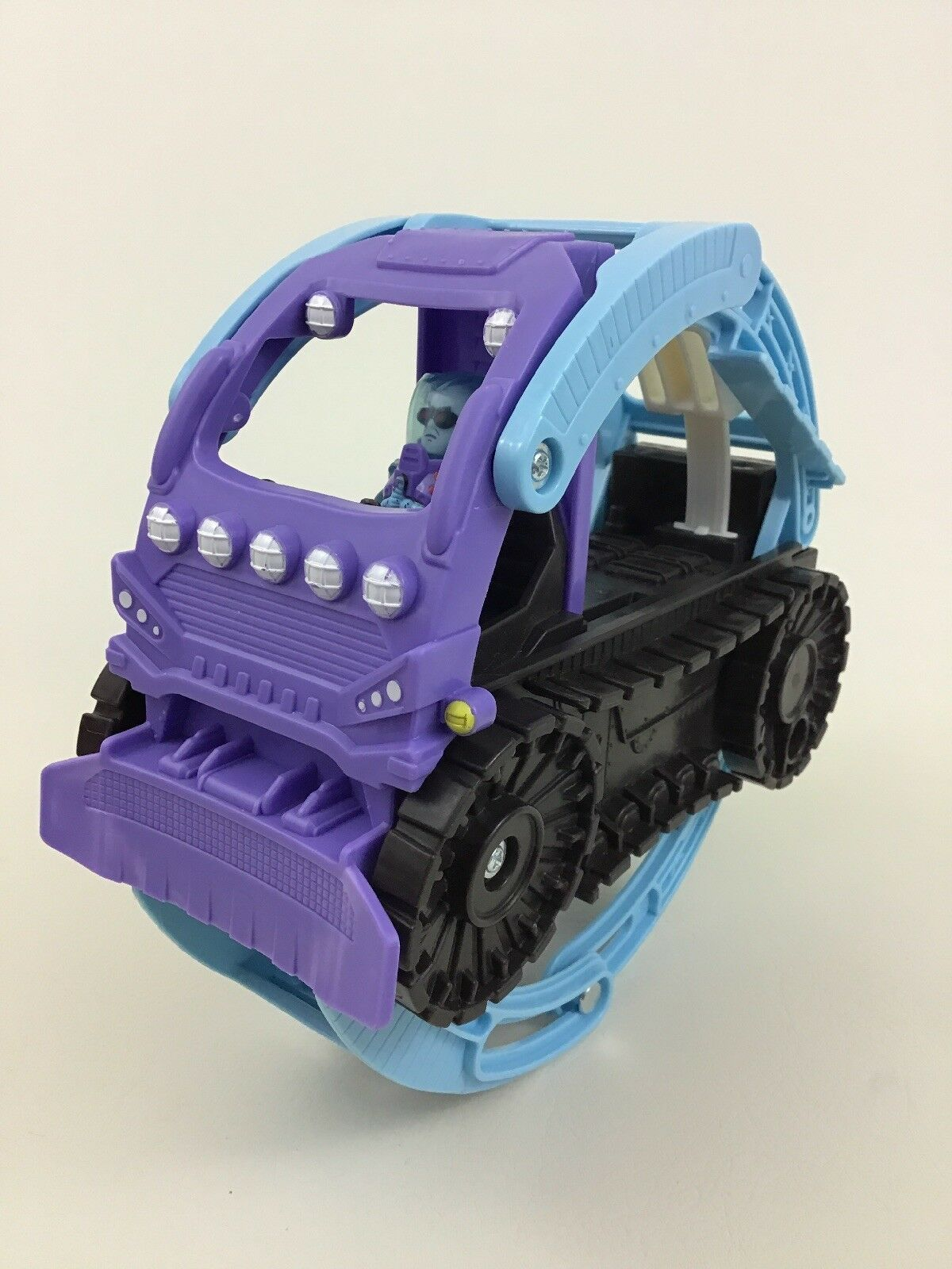 Fisher Price Imaginext DC Blue Beetle Car Vehicle used figure lot parts toy set