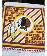 "Fabric Piece Washington Redskins Football NFL Craft Hobby Sewing 14"" X 17"" - $4.26"