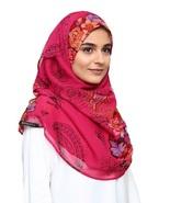 BOKITTA BABUSHKA - PRINTED CRINKLED CHIFFON INSTANT HIJAB Muslim Scarf Veil - $55.62+
