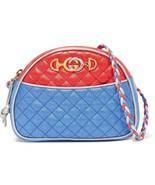 NWT Gucci laminated camera Trapuntata cross-body bag ; Rtl $1700 - $1,201.79
