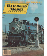 Railroad Model Craftsman Magazine May 1978 Logging Railroad Projects - $2.50