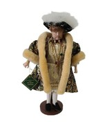 The Heritage Collection From The House Of Valentina Henry VIII  Porcelai... - $84.15