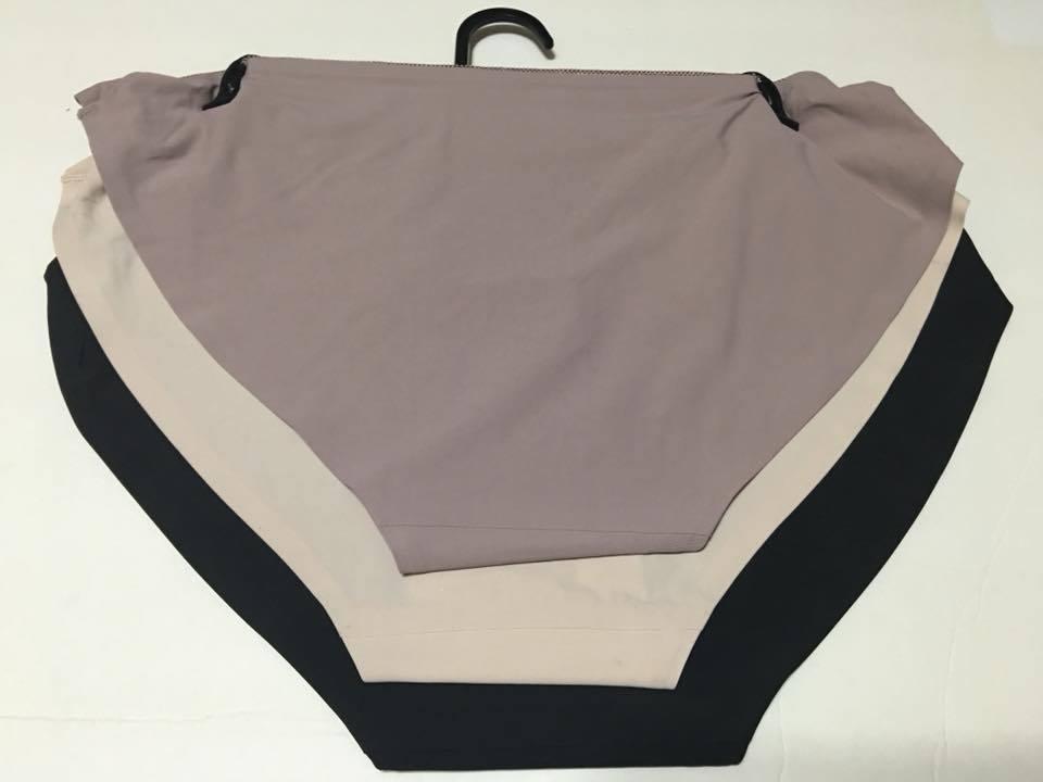 697026167bc16 Sophie B. Intimates 3-pack Multicolor Fashion Bikinis Panties L  42 BU41818