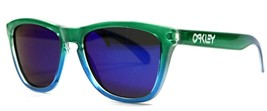 New Genuine Oakley Limited Edition Frogskins Green and Blue Retro Sungla... - $74.20