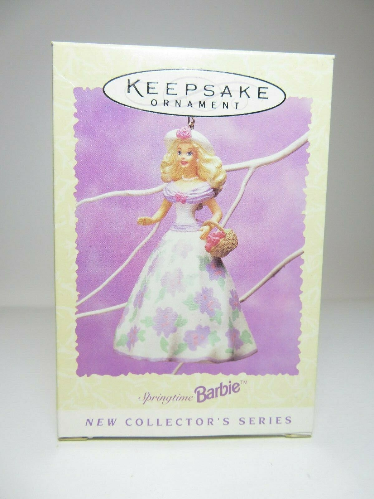1995 Easter Collection Springtime Barbie Collectors Series Hallmark Ornament #1