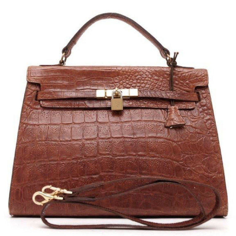 1820603047 Il fullxfull.1205856935 caup. Il fullxfull.1205856935 caup. Previous. Vintage  Mulberry croc embossed leather Kelly bag with shoulder strap. Roger Saul