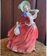 Vintage Royal Doulton Autumn Breezes Figurine Bone China HN1934 Rd No 83... - $89.99