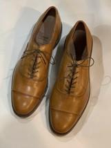 Excellent Allen Edmonds Park Avenue 10 D Dainte Sole Light Brown Cap Toe Oxford - $220.00