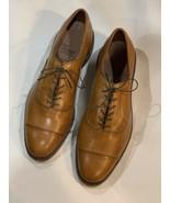 Excellent Allen Edmonds Park Avenue 10 D Dainte Sole Light Brown Cap Toe... - $220.00