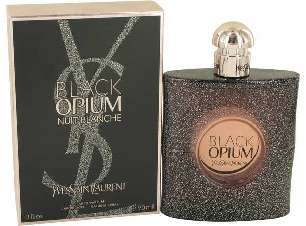Yves Saint Laurent Black Opium Nuit Blanche 3.0 Oz Eau De Parfum Spray
