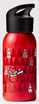 Starbucks 2016 Red Fox Stainless Steel 12-Ounce Water Bottle NEW IN BOX - $22.90