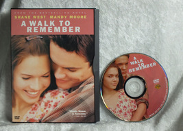 A Walk to Remember DVD Mandy Moore Shane West - $5.00