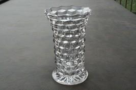 "Vintage Fostoria American Elagent Glass Flared Lip Flower Vase 7.5"" Tall - $42.56"